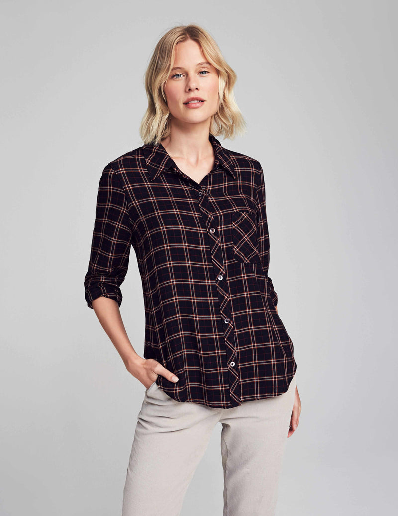 Malibu Shirt - Harper Plaid