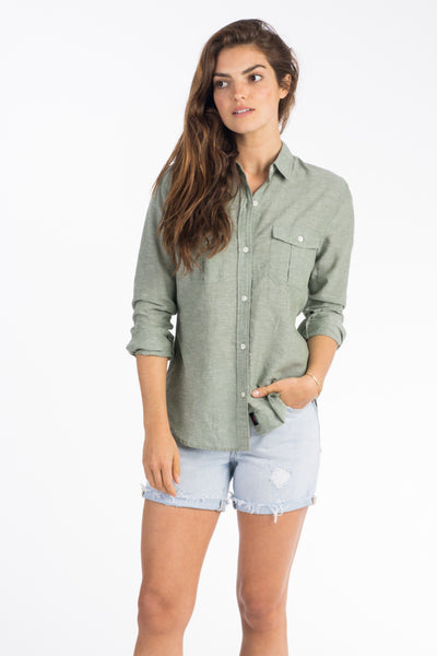 Breezecloth Utility Shirt - Olive