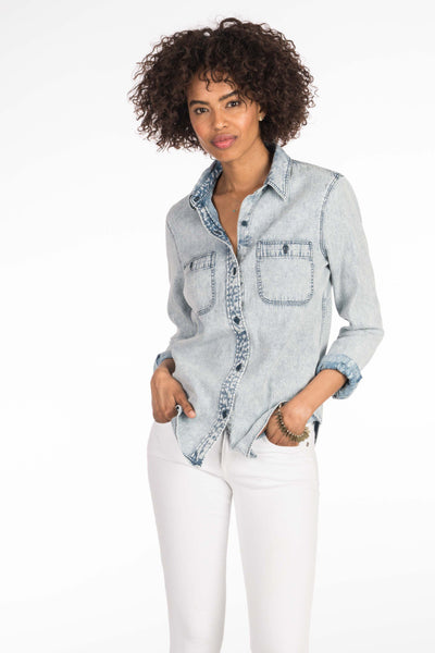 Oceanside Shirt - Indigo