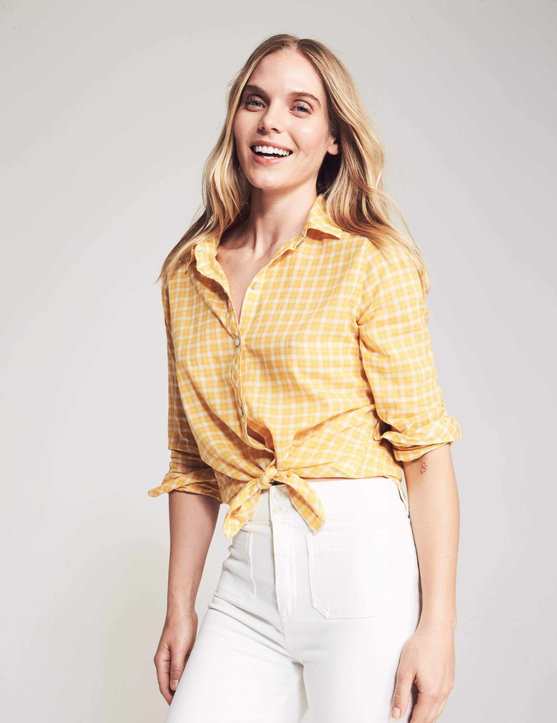 Malibu Shirt - Phillipa Plaid