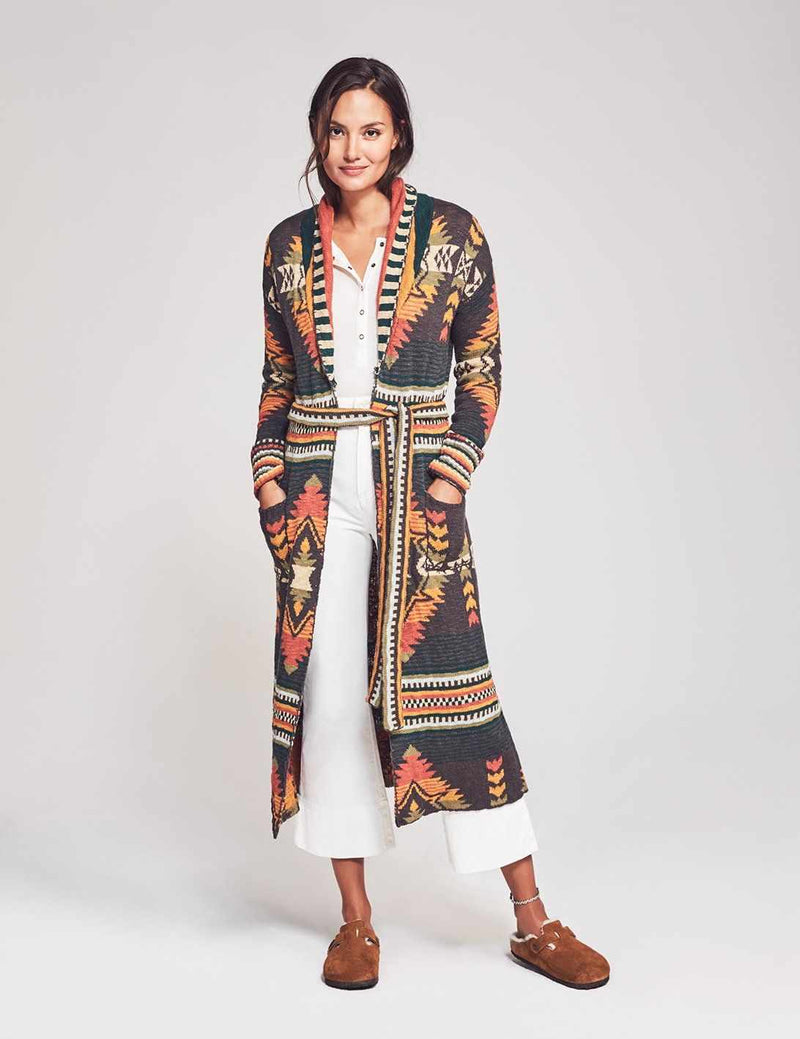 Paloma Duster Cardigan - Valley Multi