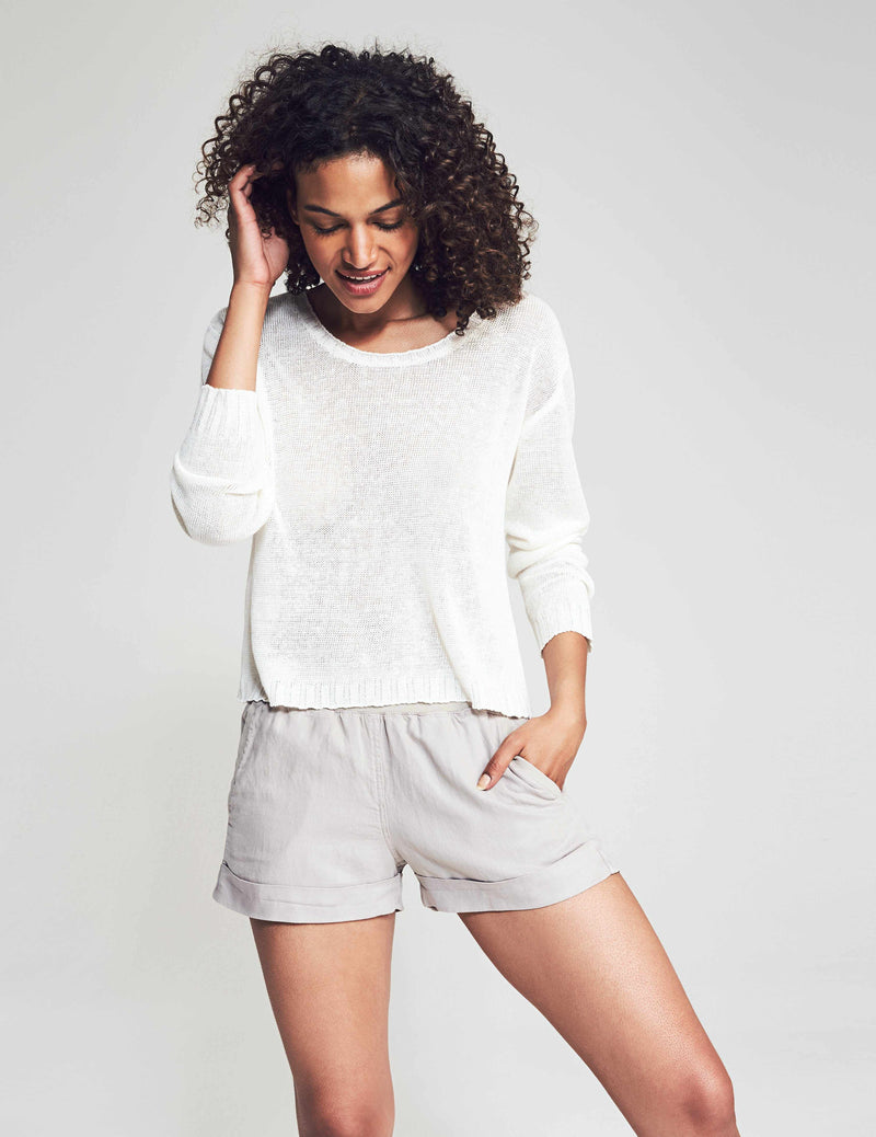 Reenie Sweater - White