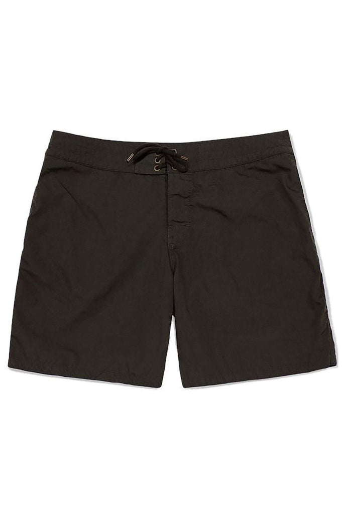 "Faherty for APJ - Limited Edition Black 7"" Boardshorts"