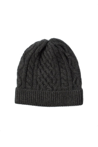 Nomad Cashmere Beanie - Charcoal Grey