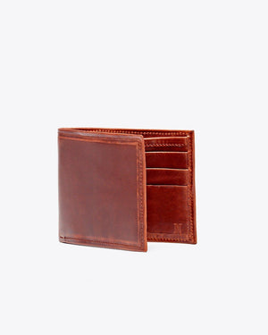 Nisolo Brewer Wallet Brandy
