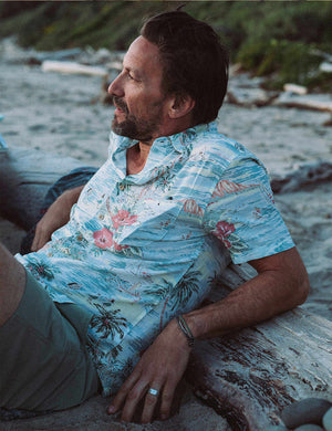 Short-Sleeve Kona Shirt - Aloha Bliss