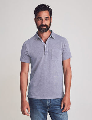 Sunwashed Polo - Storm Blue