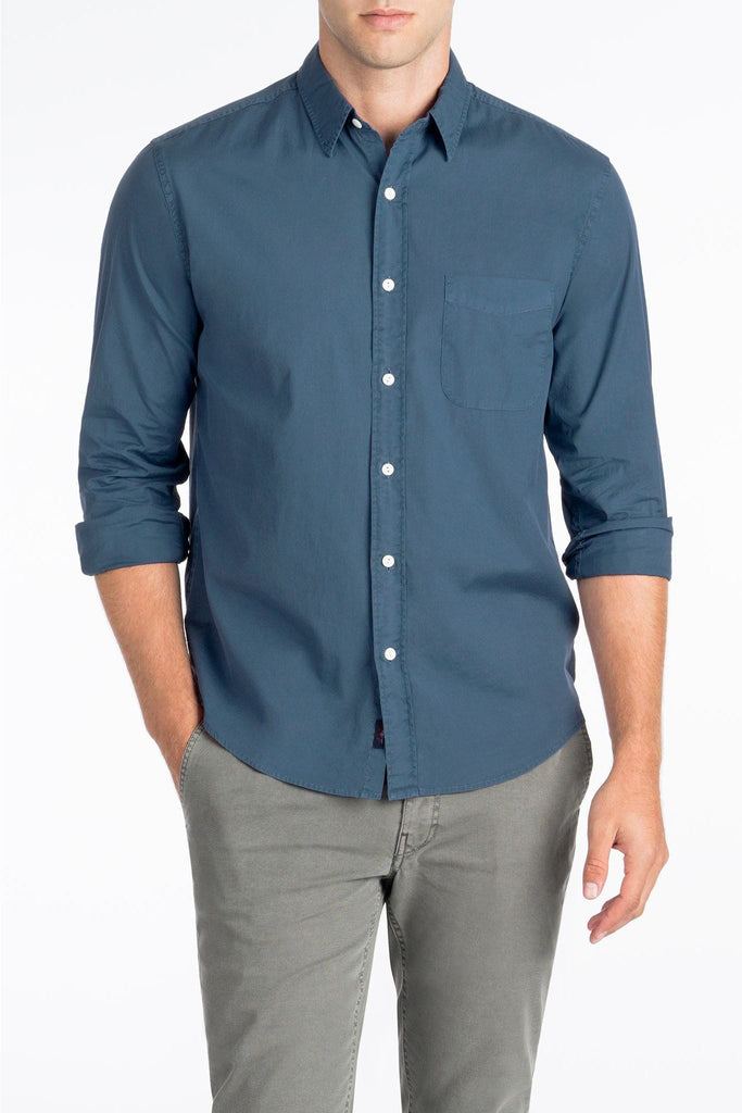 Garment Dyed Ventura Shirt  - Navy
