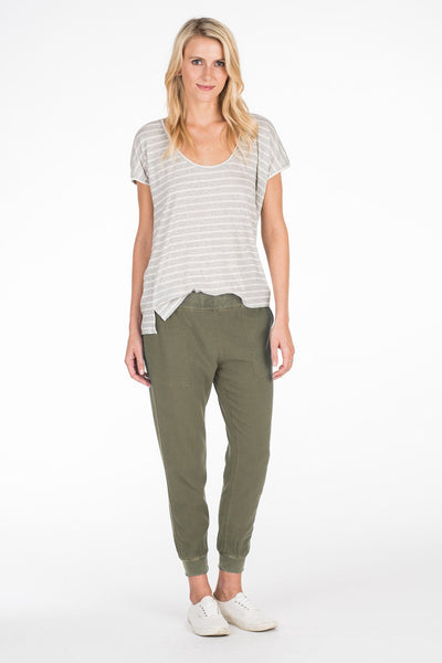 Arlie Day Pant - Field Green