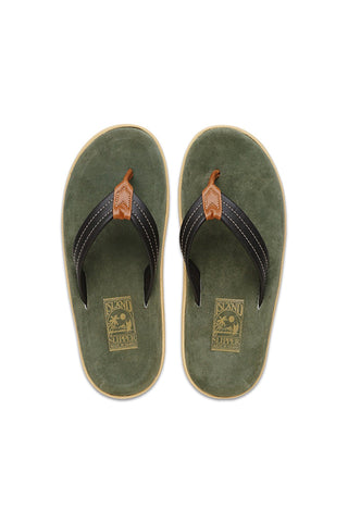Island Slipper Sandal - Mixed Leather
