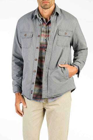 Blanket Lined CPO Jacket - Rugged Grey