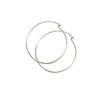 Tarin Thomas Janey Hoops - Sterling Silver
