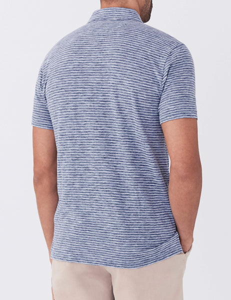 Navy Stripe Heather