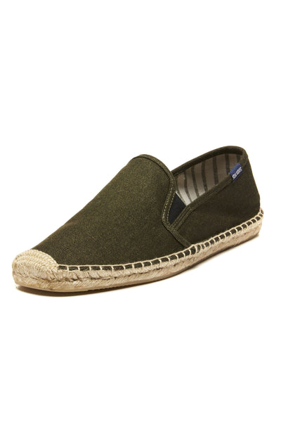 Soludos Smoking Slipper - Gore Moss