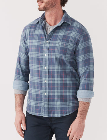 Doublecloth Shirt - Blue Grey