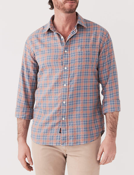 Newport Shirt - Dusty Rose & Turquoise