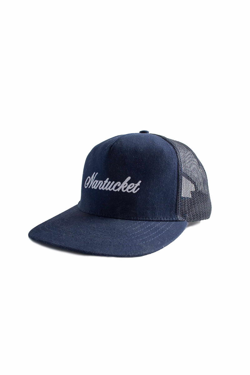 5-Panel Trucker Nantucket - Navy