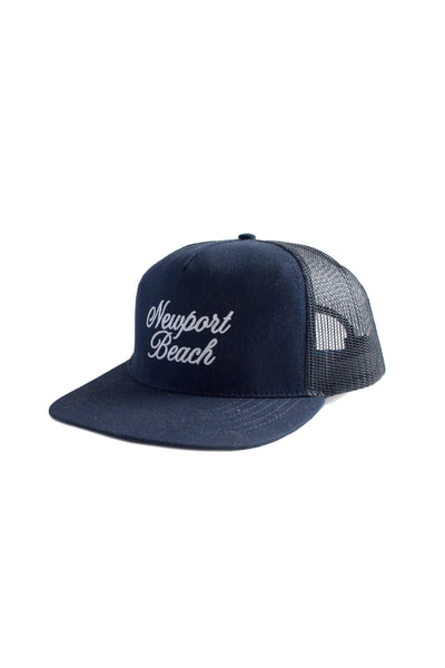 5-Panel Trucker Newport Beach - Navy