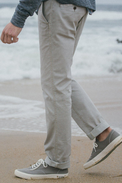 Comfort Canvas Trouser - Sand