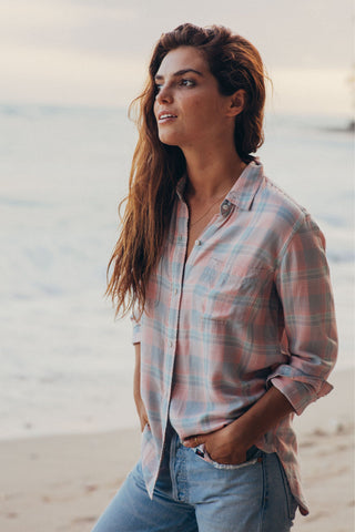 Malibu Shirt - Bahama Plaid