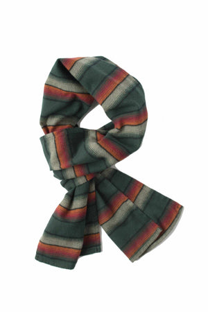 Shelter Scarf - Hunter Green Serape