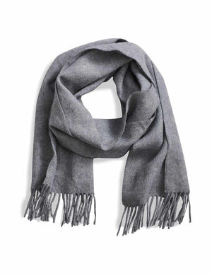 Alpaca Scarf - Grey Heather