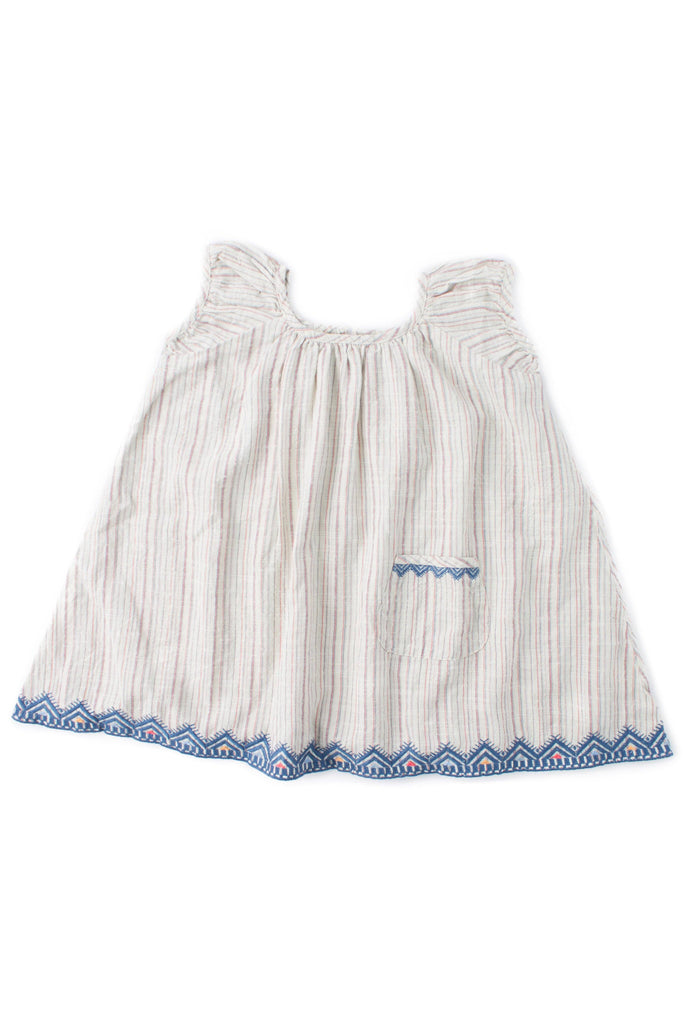Lulu Swing Dress - Paradise Stripe