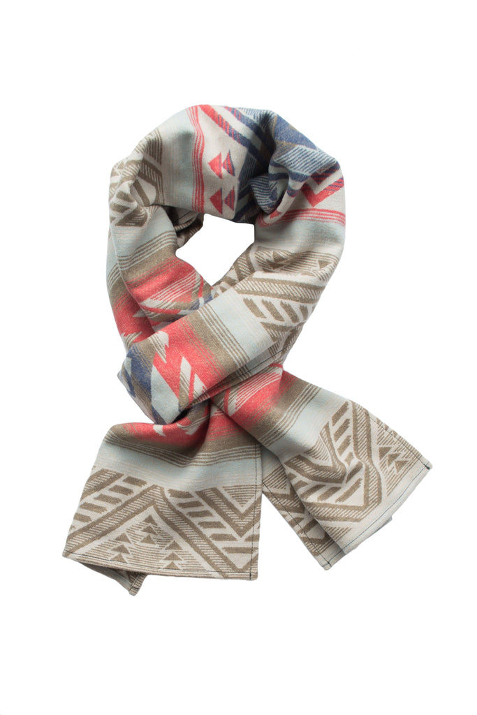 Shelter Scarf - Washed Aztec