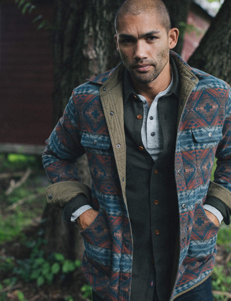 Reversible Bondi Jacket - River Glade
