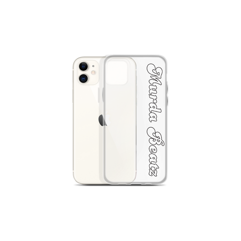 Murda Beatz Script iPhone Case