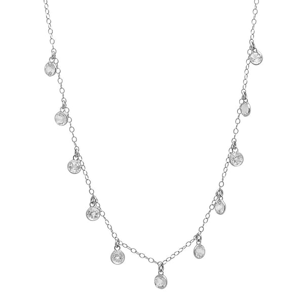 SHANE NECKLACE WHITE GOLD