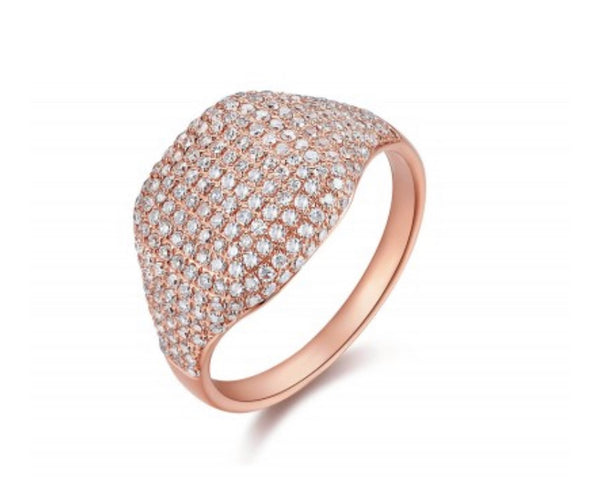 PAVE DOME RING