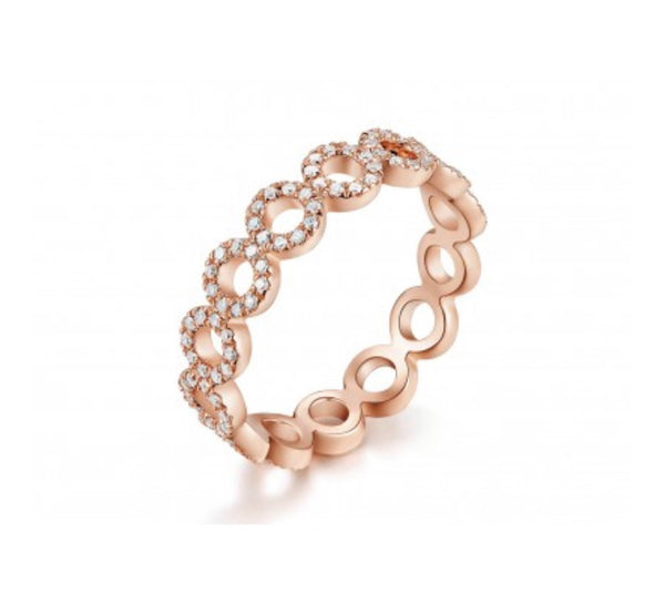 OPEN CIRCLE ETERNITY RING