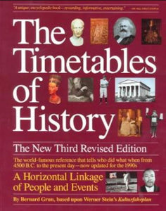 The Timetables of History: 3rd Edition
