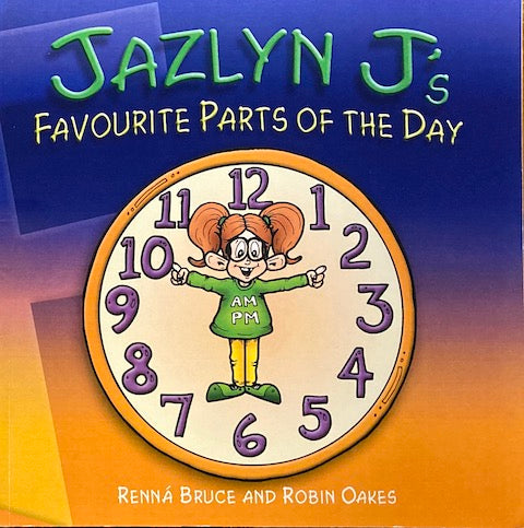 Jazylyn J's Favourite Parts of the Day