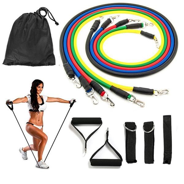 Ultimate Resistance Band Complete Package - 11pc Set