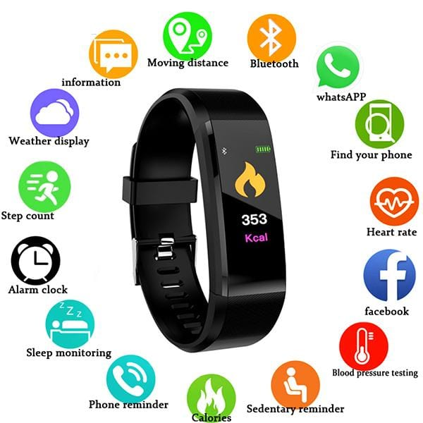 Premium All-In-One Fitness Tracker Smartwatch OFFER