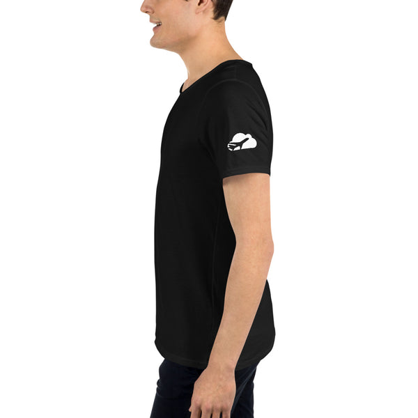 Men's Raw Neck Tee
