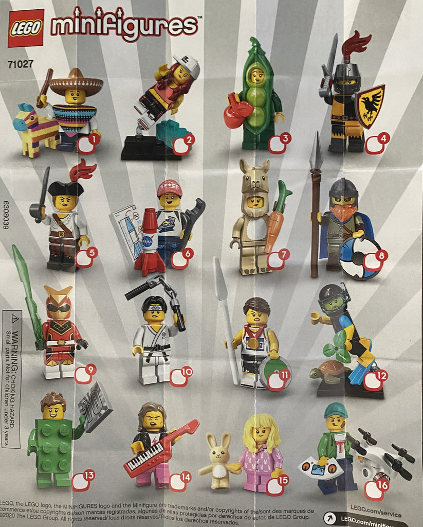 Series 20 Minifgures now in stock.  Get your favorite today!