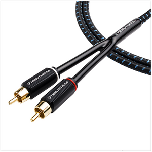 Tributaries Series 4 Analog Audio Cable (Stereo or Mono)