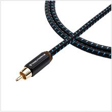 Load image into Gallery viewer, Tributaries Series 4 Subwoofer Cable