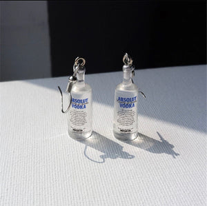 Vodka-bottle Earrings