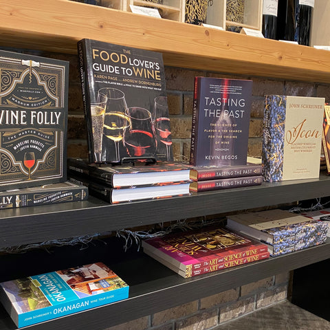 wine books about BC and international regions and history