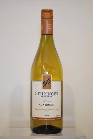 Gehringer Bros. Old Vines Auxerrois