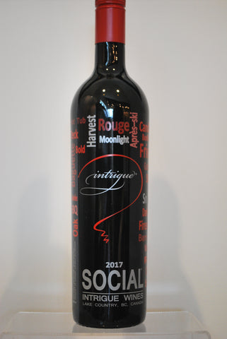 Intrigue Social Red - SOLD OUT