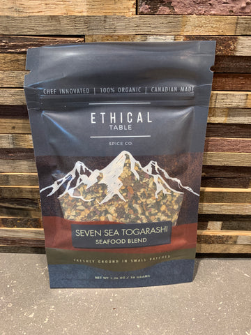 Ethical Table Spice Co. (Seven Sea Togarashi Seafood Blend)