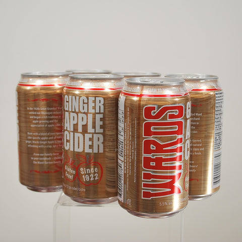 Ward's Ginger Apple Cider