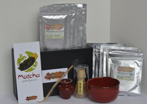 Win 1 year supply of Organic Japanese Matcha Supreme