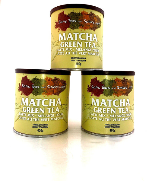 Matcha Latte Mix 400g - Sam's Teas and Spices  - 1