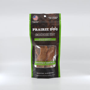 Smokehouse Jerky Country Chicken Dog Treats, 4-oz bag